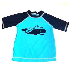 Toddler Boys Circo Blue rash guard top